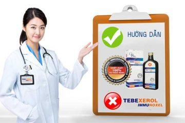 Hướng dẫn sử dụng Tebexerol Immunoxel