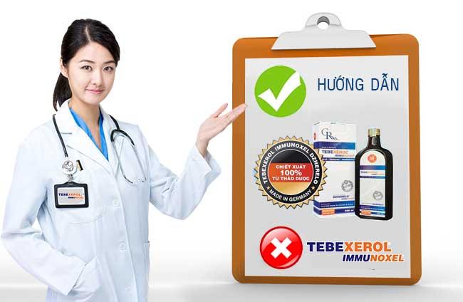 Hướng dẫn sử dụng thuốc Tebexerol Immunoxel