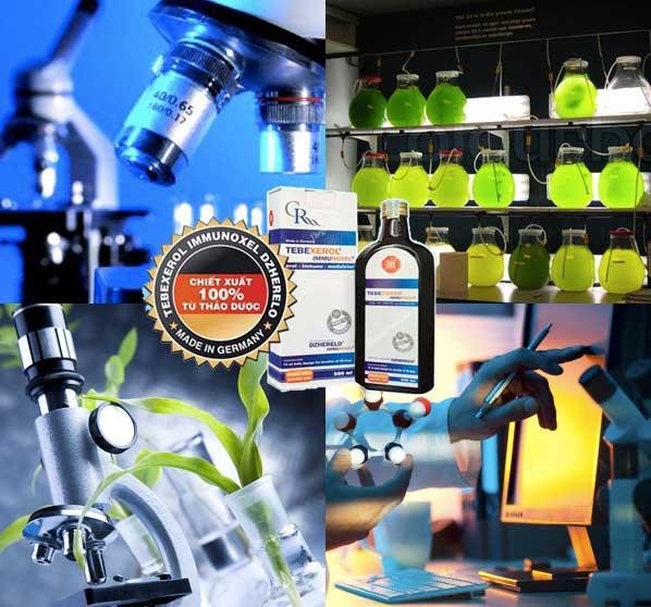 Quy trình sản xuất Tebexerol Immunoxel